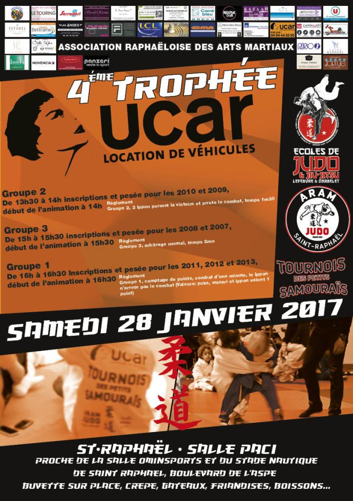 4em trophée UCAR 28 janvier 2017 affiche a3